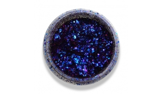 Слюда ЮКИ синий металл (цветная) 1264