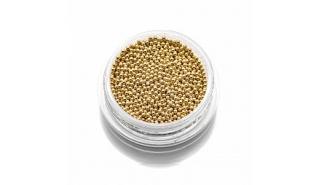 Бульонки металлические золото Gold 0,8 мм (10 г)