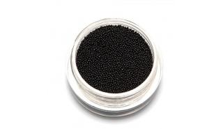Бульонки металлические Черные Black 0,6 мм