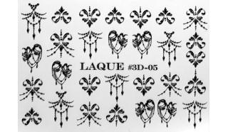 Слайдер для арт-дизайна Laque 3D-05 Black