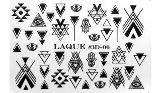Слайдер для арт-дизайна Laque 3D-06 Black