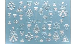 Слайдер для арт-дизайна Laque 3D-06 White
