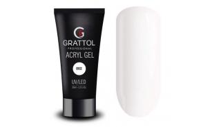 Grattol Acryl Gel 02 - Акрил-гель для моделирования, 30 ml