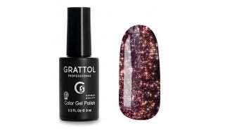 Grattol Color Gel Polish Bright - Star 05, светоотражающий гель-лак, 9 ml
