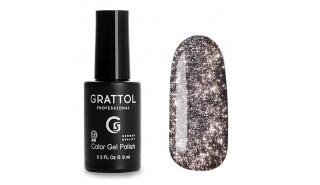 Grattol Color Gel Polish Bright - Star 09, светоотражающий гель-лак, 9 ml