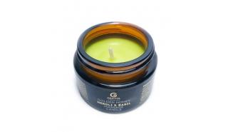 Grattol Premium  Massage Candle - массажная свеча с ароматом Neroli & Вasil (Нероли и Базилик), 30ml