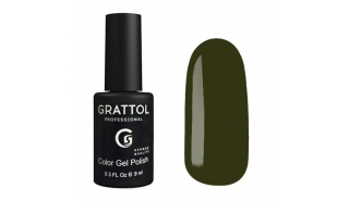 Гель-лак Grattol Color Gel Polish - №192 Dark Olive