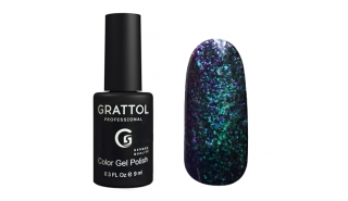 Гель-лак Grattol Galaxy - №001 Emerald