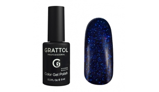 Grattol Color Gel Polish  Luxury Stones - Sapphire 01