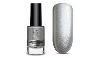Grattol Nail Polish Stamping Silver - лак для стемпинга Серебро 6,5 ml