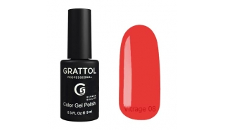 Гель-лак Grattol Color Gel Polish Vitrage - 08, 9 ml