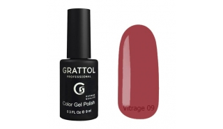 Гель-лак Grattol Color Gel Polish Vitrage - 09, 9 ml