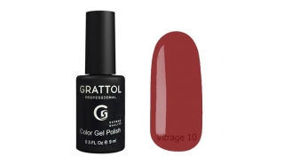 Гель-лак Grattol Color Gel Polish Vitrage - 10, 9 ml