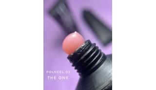The One Polygel - полигель оттенок №2 (натуральный) 30гр