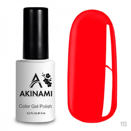 Akinami Color Gel Polish Bright Berry - №113