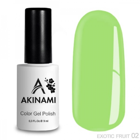 Akinami Color Gel Polish - Exotic Fruit - 02