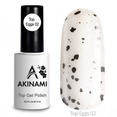 Akinami Top  Eggs 02 - Топ с чёрной крошкой , 9 ml