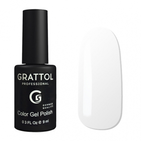 Гель-лак Grattol Color Gel Polish White - №01