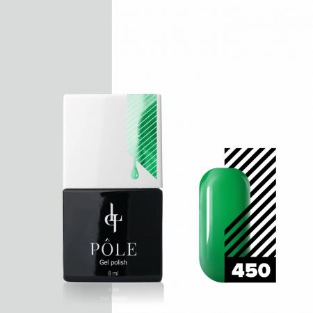 Цветной гель-лак POLE №450 - тропическая лиана, 8 мл