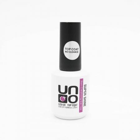 UNO Top coat Super Shine, Топ без липкого слоя,15  ml