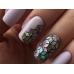Ромбики для дизайна ногтей голографические (блёстки) Zoo